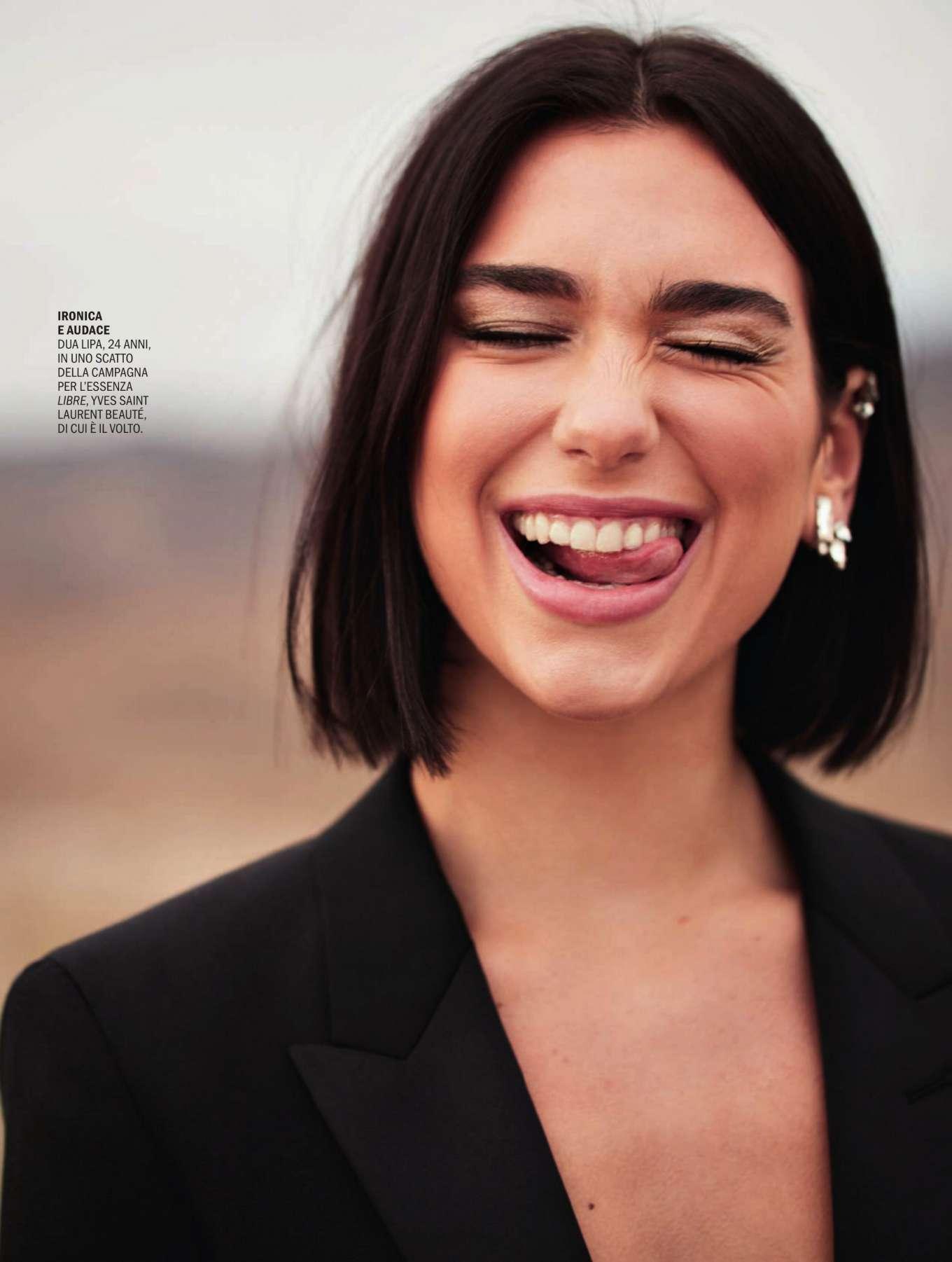 Dua Lipa - Marie Claire Italy Magazine (November 2019)