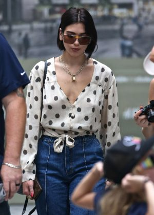 Dua Lipa - Out in Chelsea in NYC