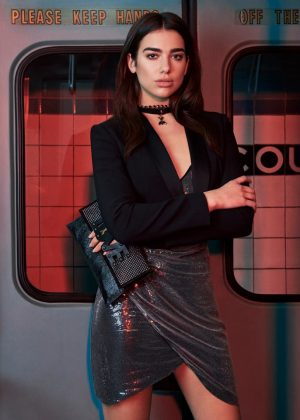 Dua Lipa - Patrizia Pepe Shoot (February 2018)