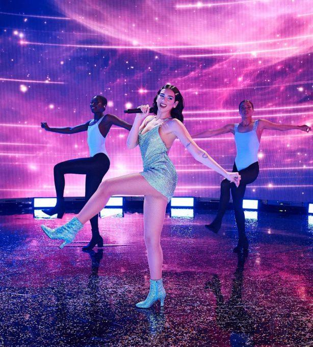 Dua Lipa - Perform at 2020 American Music Awards in Los Angeles