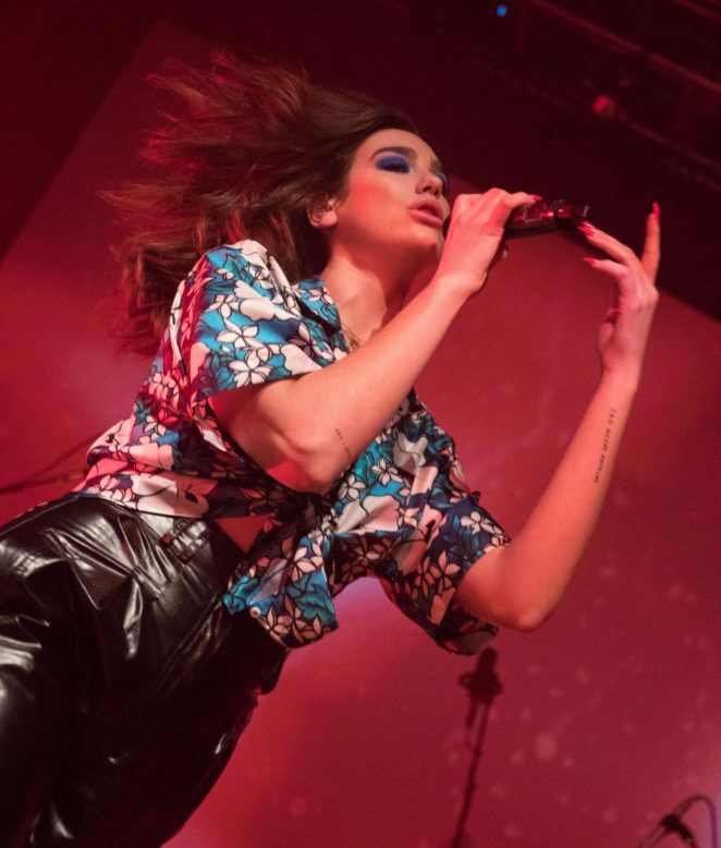 Dua Lipa - Performs at the House of Blues in San Diego