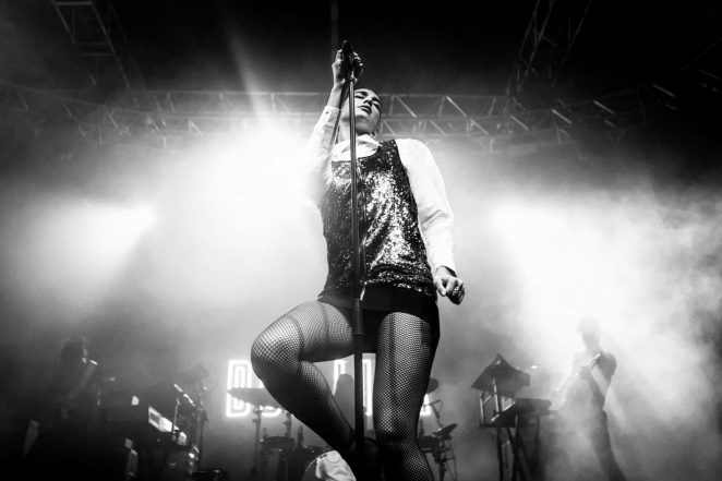 Dua Lipa Performs live in Milan