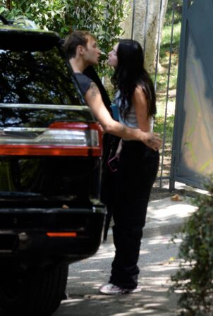 Dua Lipa - With Boyfriend Anwar Hadid in Los Angeles