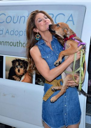 Dylan Lauren - The Dylan's Candy BarN Dog Adoption Event in New York