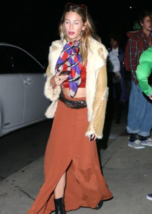 Dylan Penn - Maroon 5 Annual Halloween Party in Studio City