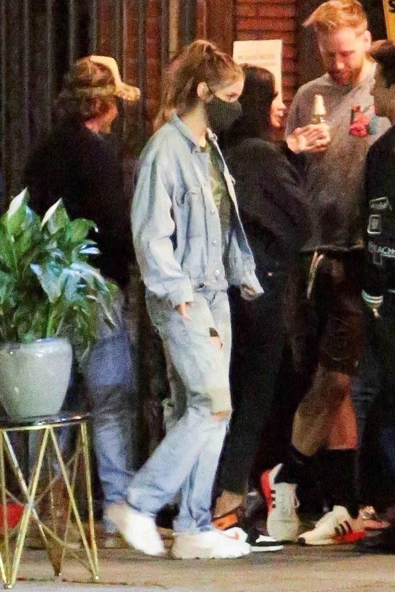 Barbara Palvin 2020 : Dylan Sprouse and Barbara Palvin with KJ Apa and Stella Maxwell – Night out in Silverlake -04