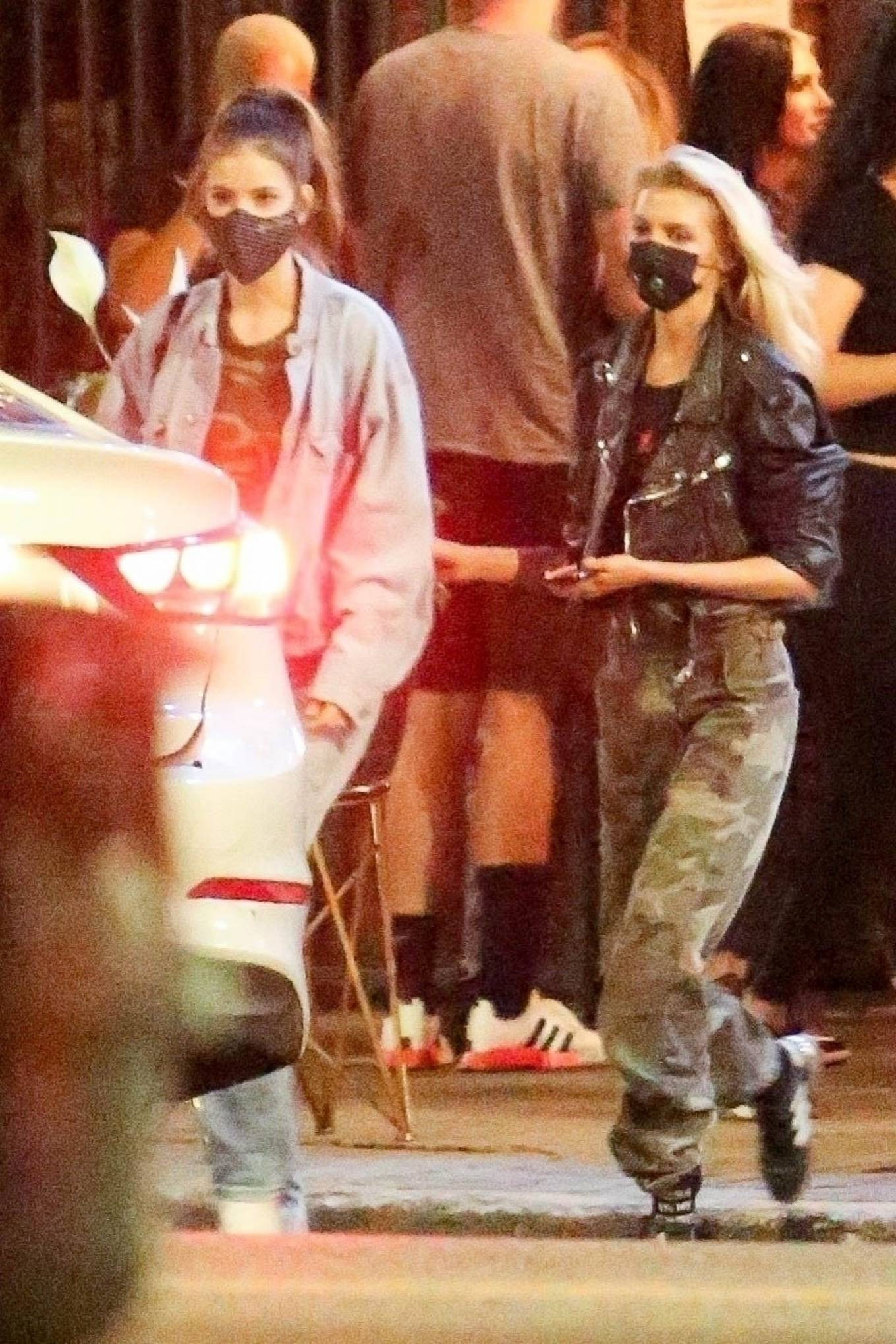 Barbara Palvin 2020 : Dylan Sprouse and Barbara Palvin with KJ Apa and Stella Maxwell – Night out in Silverlake -10