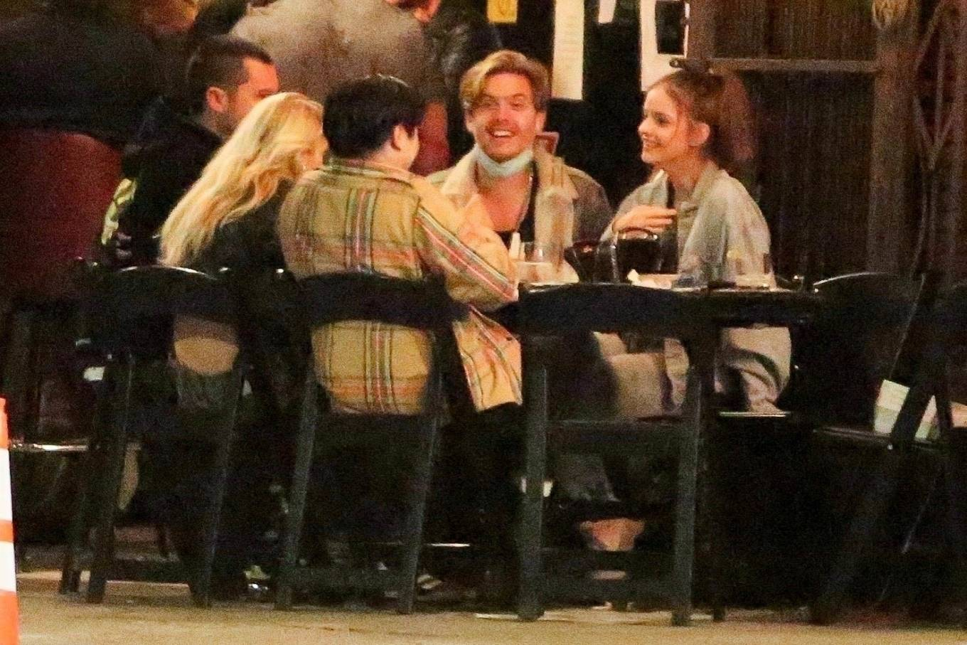 Barbara Palvin 2020 : Dylan Sprouse and Barbara Palvin with KJ Apa and Stella Maxwell – Night out in Silverlake -11