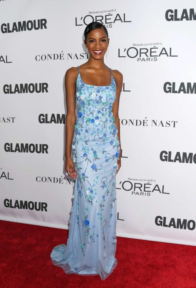 Ebonee Davis - 2017 Glamour Women of The Year Awards in NY
