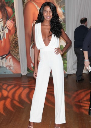 Ebonee Davis - Sports Illustrated Swimsuit 2016 Swim City Celebration in NYC