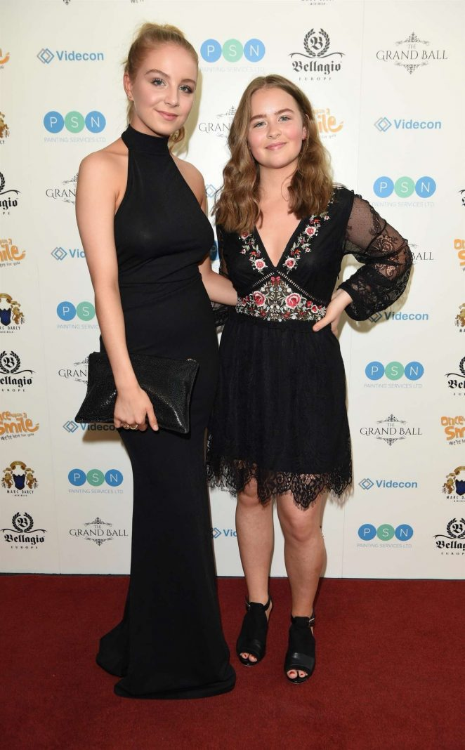 Eden Taylor-Draper and Isobel Steele – Once Upon a Smile Grand Ball in Manchester