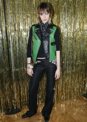 Edie Campbell - Coach Party 2016 in Paris