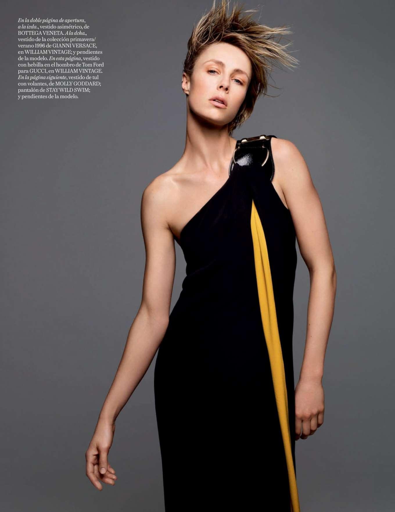 Edie Campbell 2019 : Edie Campbell – Vogue Espana 2020-01