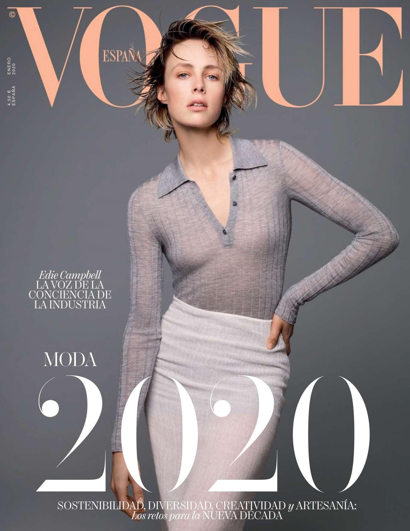 Edie Campbell 2019 : Edie Campbell – Vogue Espana 2020-09