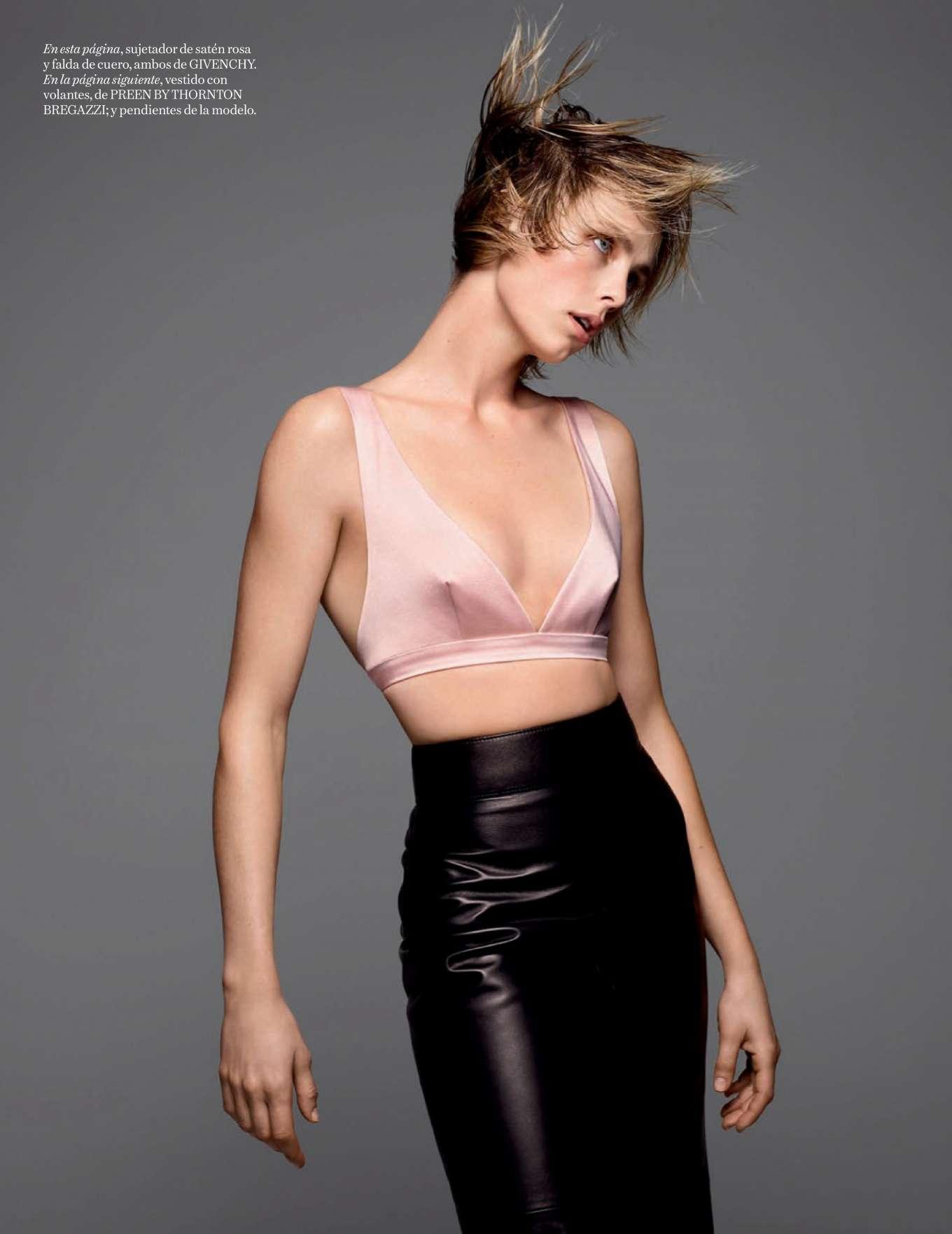 Edie Campbell 2019 : Edie Campbell – Vogue Espana 2020-10