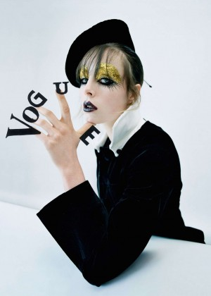 Edie Campbell - Vogue UK Photoshoot (June 2016)