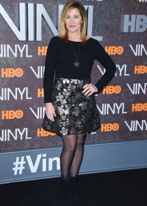 Edie Falco - 'Vinyl' Premiere in New York