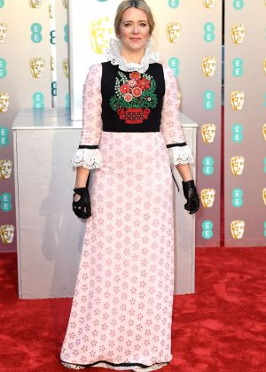 Edith Bowman - 2019 British Academy Film Awards in London