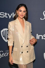 Eiza Gonzalez - 2020 InStyle and Warner Bros Golden Globes Party in Beverly Hills