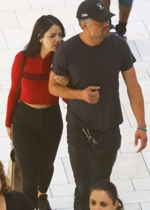 Eiza Gonzalez and Josh Duhamel out in Los Angeles