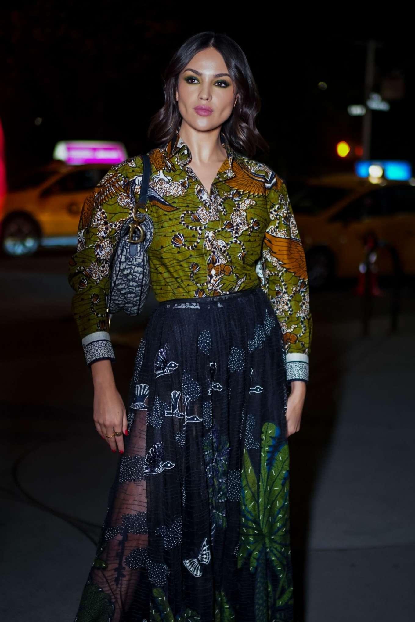 Eiza Gonzalez - Arrives at Guggenheim International Gala in New York
