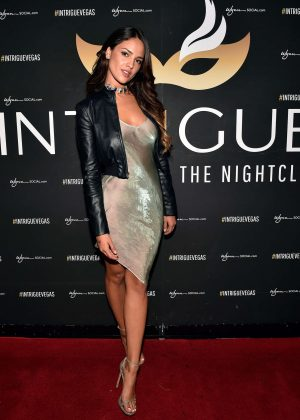 Eiza Gonzalez at Intrigue Nightclub in Las Vegas