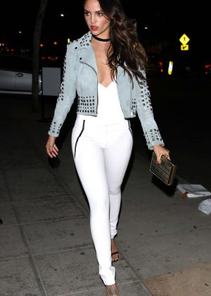 Eiza Gonzalez at The Delilah Club in West Hollywood