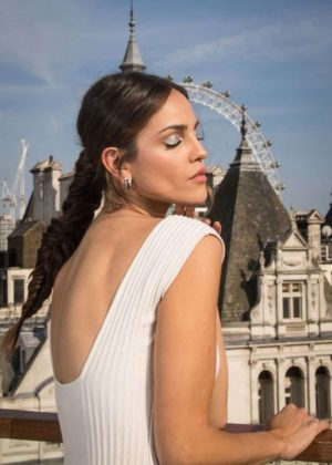 Eiza Gonzalez - 'Baby Driver' Photocall in London