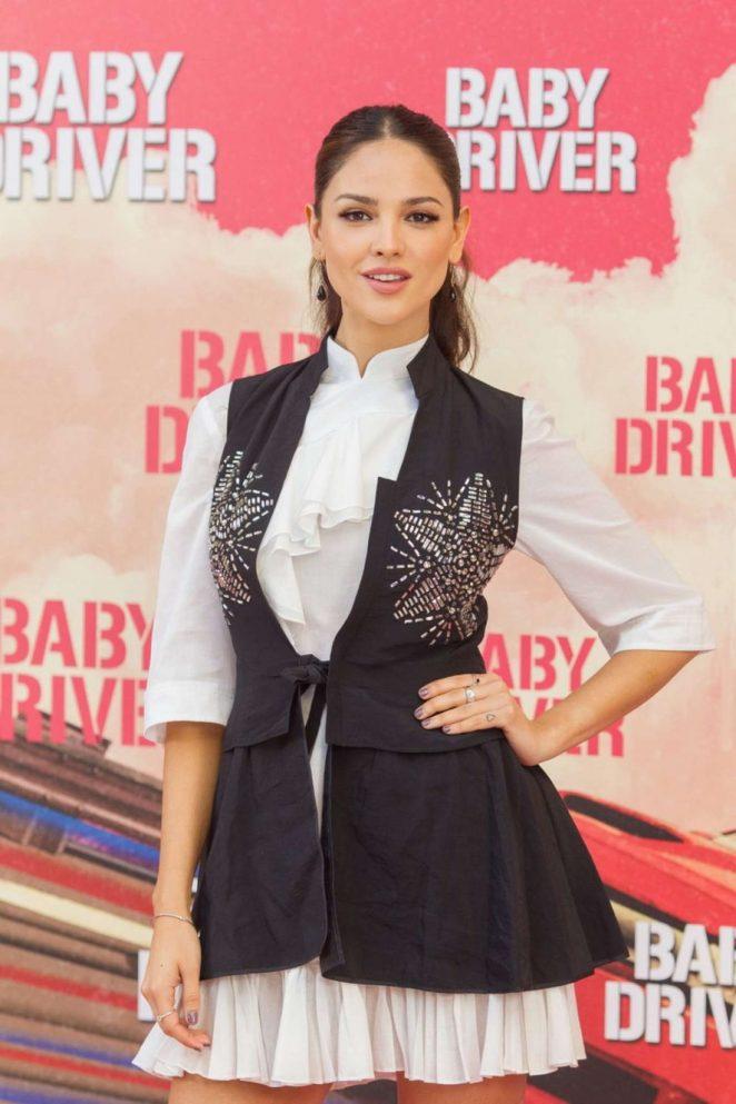 Eiza Gonzalez - 'Baby Driver' Photocall in Madrid