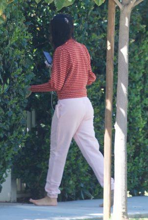 Eiza Gonzalez - Barefoot candids in Los Angeles
