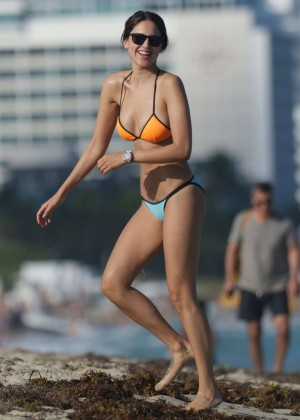Eiza Gonzalez in Bikini on Miami Beach