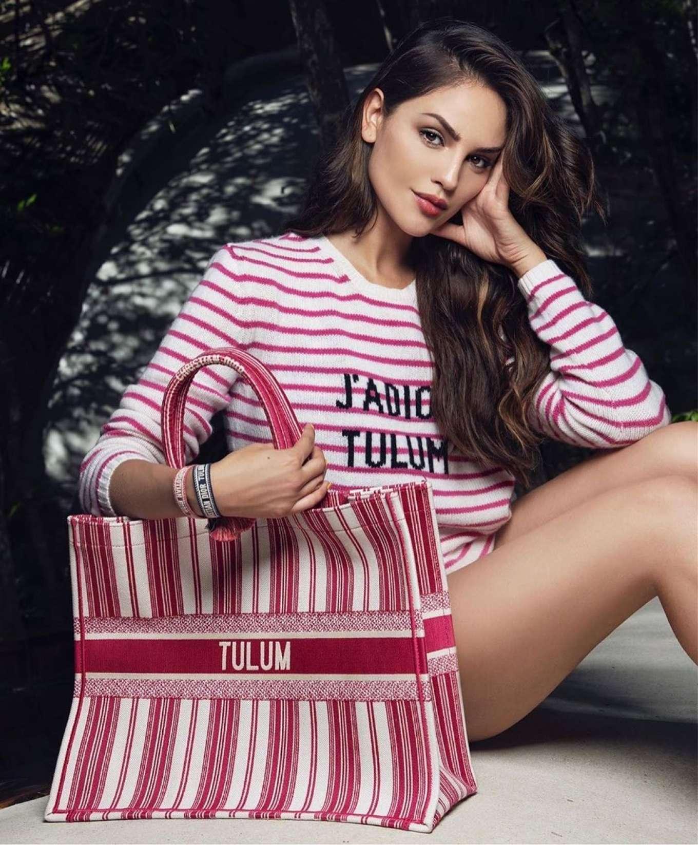 Eiza Gonzalez by Ivan Aguirre Shoot for Dior Tulum (December 2019)
