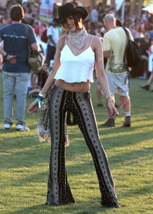 Eiza Gonzalez - Coachella Music Festival Day 2 in Indio