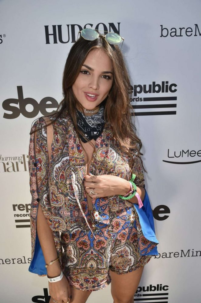 Eiza Gonzalez - Hyde Away hosted by Republic Records and SBE in Thermal