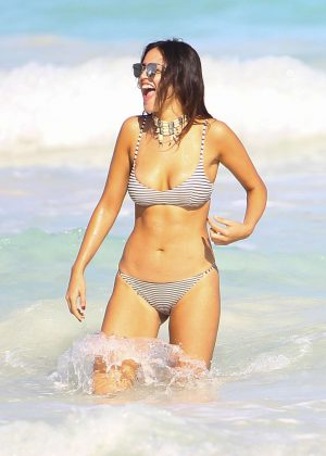 Eiza Gonzalez in Bikini on Holiday in Mexico