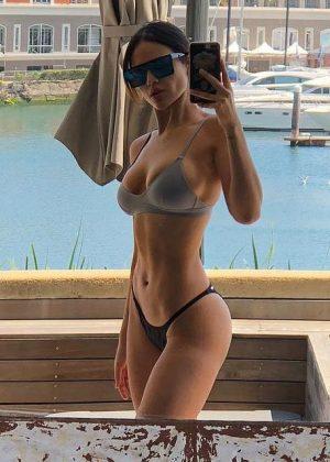 Eiza Gonzalez in Bikini - Social Media Pics