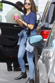 Eiza Gonzalez - In jeans as seen out in Studio City