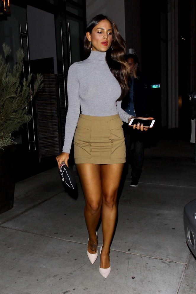 Eiza Gonzalez in Mini Skirt -02