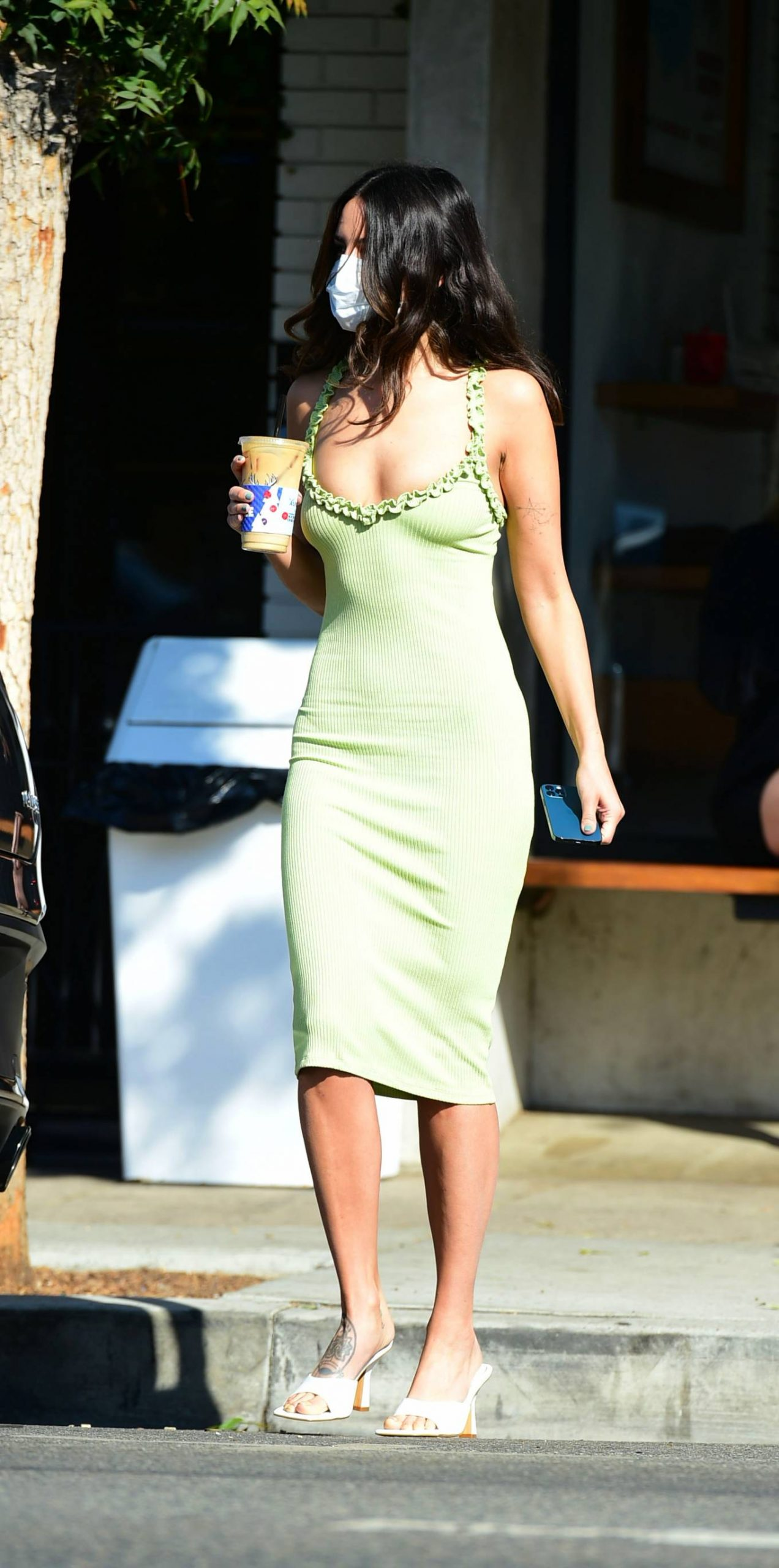 Eiza Gonzalez - In tight dress out in West Hollywood