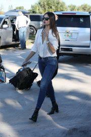 Eiza Gonzalez is Denied - Arrives to the Super Bowl in Miami