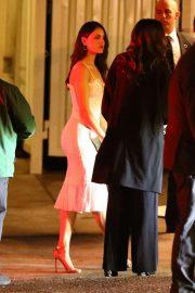 Eiza Gonzalez is seen leaving a Pre Oscar party 2020