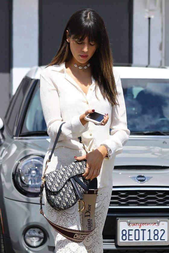 Eiza Gonzalez - Leaving a hair salon in Los Angeles