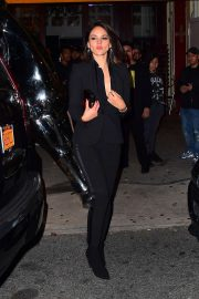Eiza Gonzalez - Night out in New York