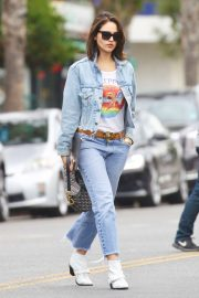 Eiza Gonzalez - Out for lunch in Studio City