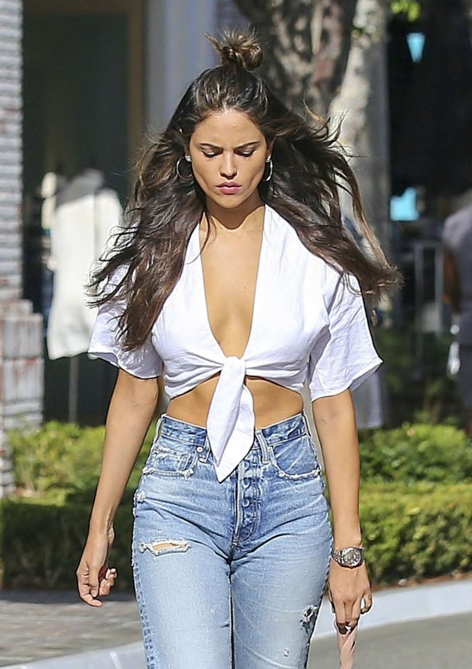 Eiza Gonzalez out shopping in West Hollywood