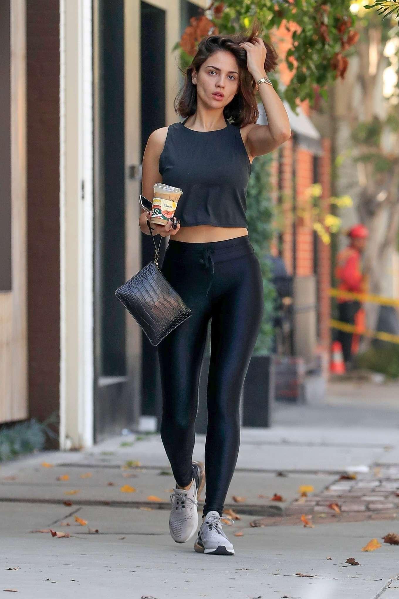Eiza Gonzalez 2019 : Eiza Gonzalez – Outside Alfreds in West Hollywood-18