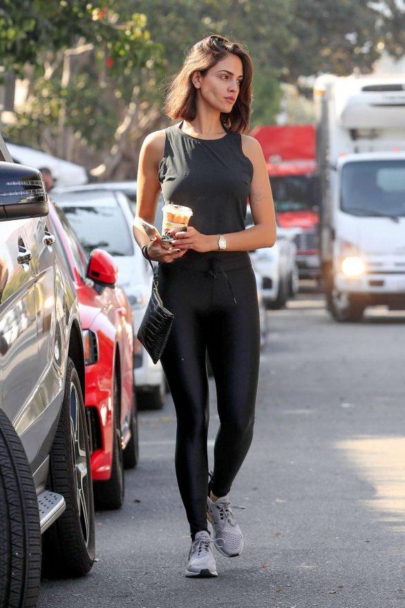 Eiza Gonzalez 2019 : Eiza Gonzalez – Outside Alfreds in West Hollywood-23