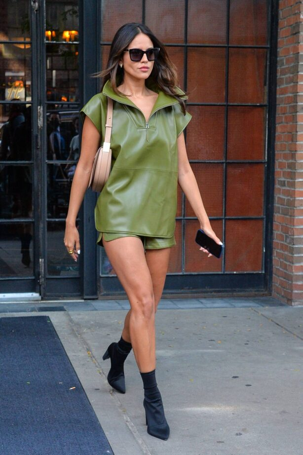 Eiza Gonzalez - outside the Bowery Hotel in NYC