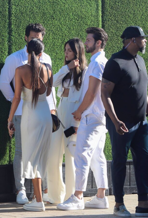 Eiza Gonzalez - Pictured with boyfriend Paul Rabil while attending Revolve party