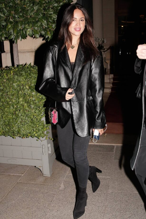 Eiza Gonzalez - Seen leaving the Ritz during the Paris Fashion Week